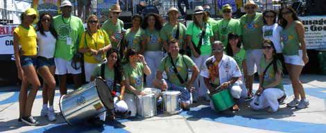 """The Samba and the Gringo """"da Mudança"""""""