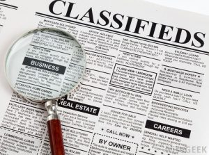 Smart Strategy for Place Classifieds Advertise