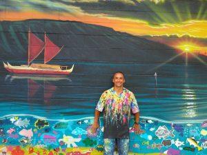 Hilton Alves Une Arte e Surf em Exposição