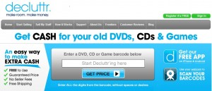 Get Cash for your Old CD's, DVD's and Games