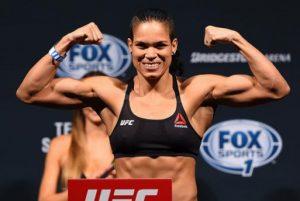 Brasileira Amanda Nunes Fará Primeira Defesa de CinturãoContra Ronda no UFC 207