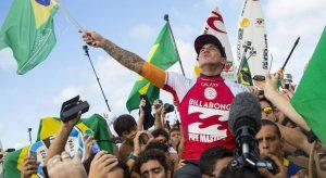Brasil Terá Nove Surfistas na Elite Mundial do Surf