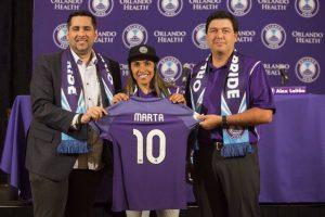 Marta Assina com o Orlando Pride e Volta a Jogar em Liga nos EUA