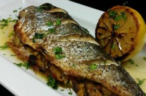 Trout with Passion-Fruit Sauce