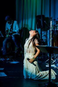 "Katia Moraes Live Show, ""Mistureba"" EP Release and Drawing Exhibit"