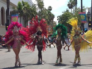 The Santa Barbara Solstice Parade Incorporated the Soul of Brazil