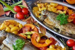 Trout with Herbs and White Wine